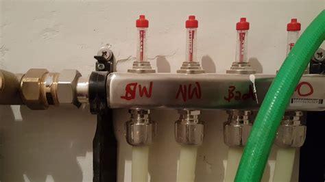 fußbodenheizung durchfluss einstellen fu 223 bodenheizung selber bauen teil14 durchfluss einstellen