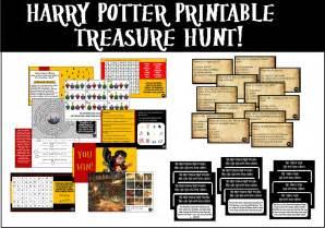 Office Halloween Scavenger Hunt Riddles by Printable Harry Potter Trivia Treasure Hunt You Decide