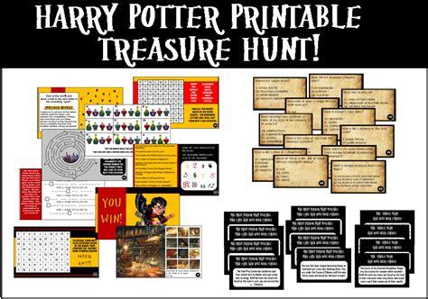 Printable Harry Potter Trivia Treasure Hunt