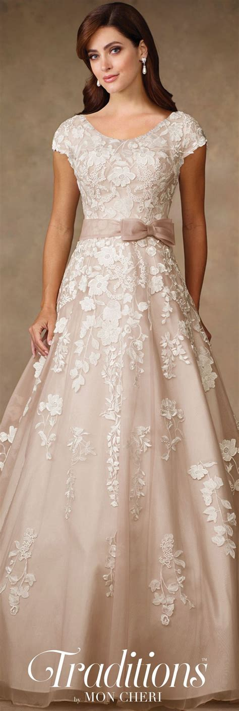 Traditions By Mon Cheri Spring 2017 Wedding Gown
