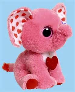 Ty Beanie Boos Valentine's Day Elephant