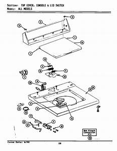 Maytag Model A1910 Washers Genuine Parts