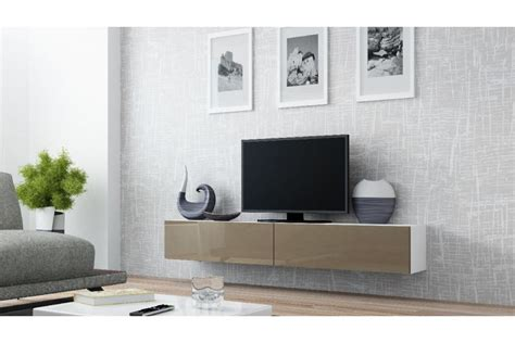 Meuble Tv Design Suspendu Vito 180cm