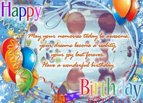 memories  awesome  birthday wishes ecards
