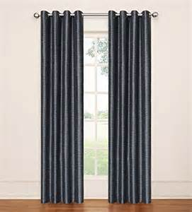 eclipse curtains eli grommet blackout window curtain panel from sears