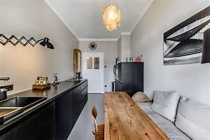 Kleine Schmale Küche Einrichten : eine k che im altbau eine gute herausforderung k chendesignmagazin lassen sie sich inspirieren ~ Sanjose-hotels-ca.com Haus und Dekorationen