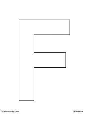 letter f template uppercase letter f template printable alphabet letters