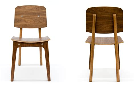 walnut ply 412 dining chair