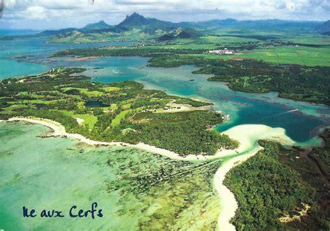 A Journey Of Postcards Île Aux Cerfs Deer Island