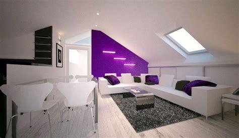 dachgeschosswohnung einrichten moderne wohnzimmer tapeten jugend dachgeschosswohnung