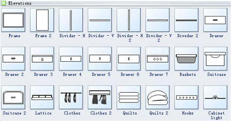 Elevation Diagram Symbols