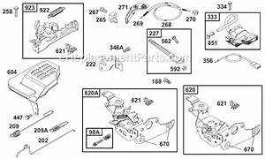 Briggs And Stratton 12a800 Series Parts List And Diagram
