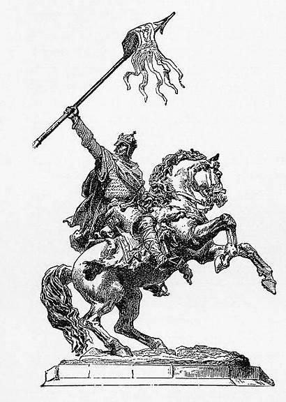 Conqueror William Illustration Illustrations Engraving Clip Vector
