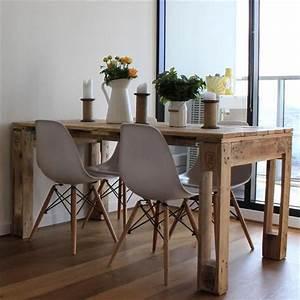 Table Cuisine Scandinave : table en palette 44 id es d couvrir photos palette pinterest style scandinave ~ Melissatoandfro.com Idées de Décoration