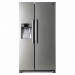 Refrigerateur Congelateur Americain : daewoo frn q22dcx r frig rateur am ricain 512l 353 ~ Premium-room.com Idées de Décoration