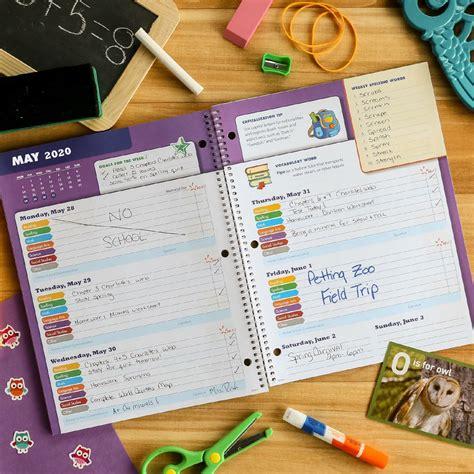 elan publishing dated elementary block student planner academic