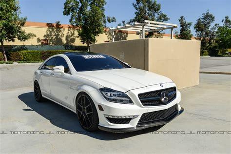 Mercedes Benz W218 Cls 63 Amg Carbon Fiber Front Lip
