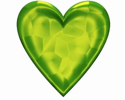 Heart Clip Valentine Transparent Background Lime Jeweled