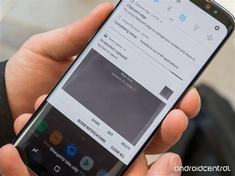 how to take a screenshot on android how to take a screenshot on the galaxy s8 android central