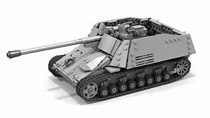 Lego Nashorn Tank - Instructions