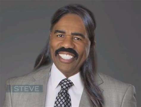 All these years and had no idea steve harvey wore a hair piece on the show   Sitcoms Online