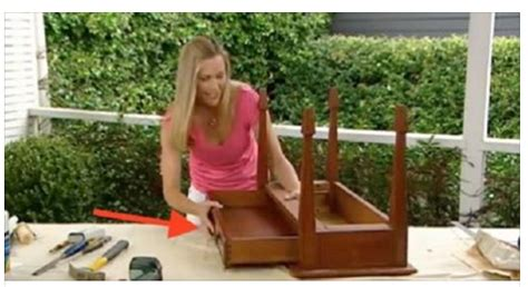 table that turns you upside down she turns a table upside down to create something every