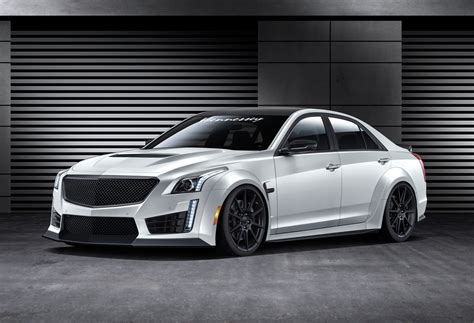 hennessey readying  hp twin turbo upgrade   cts