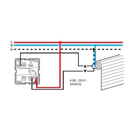 interrupteur le de bureau résolu installation commande individuelle de volet