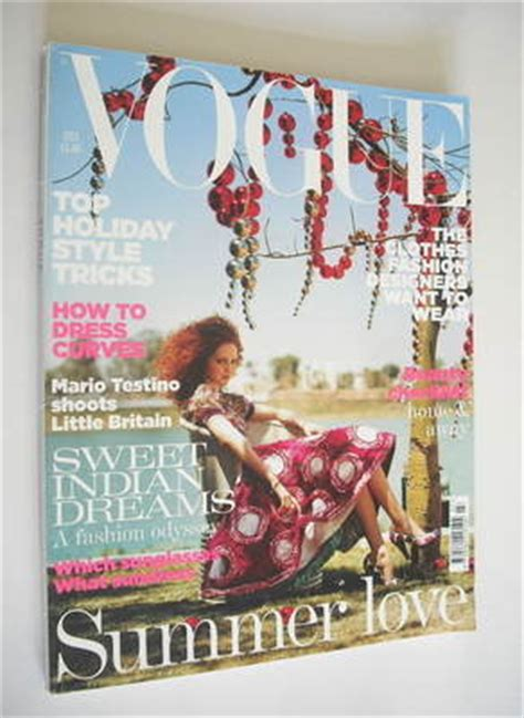 lily cole british vogue british vogue magazine july 2005 lily cole cover