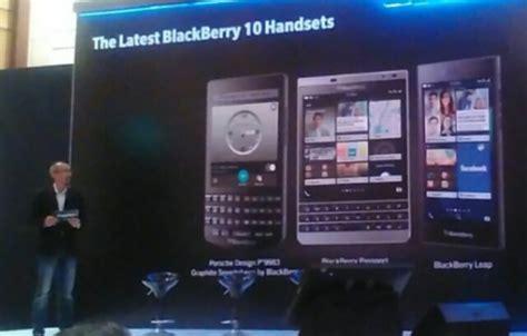 rangkaian smartphone terbaru blackberry melenggang di