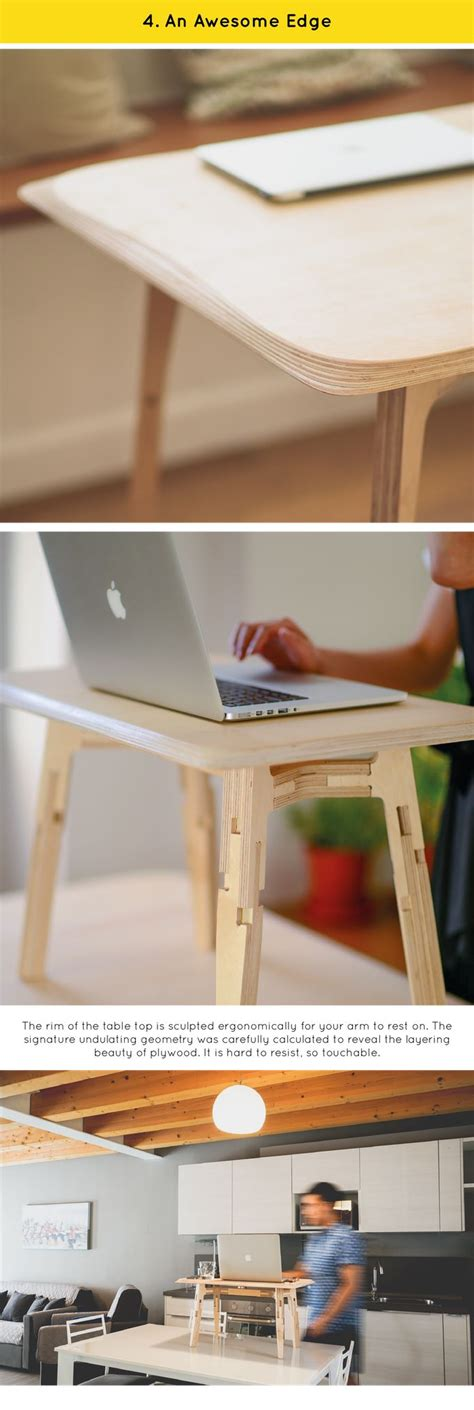 easy to assemble desk 1000 ideas about standing desk height on pinterest sit