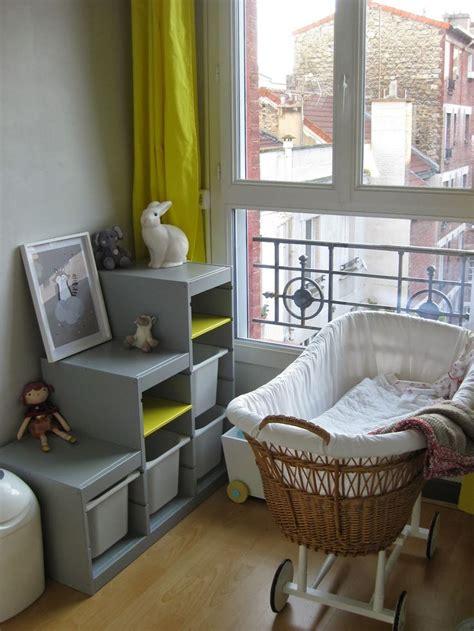 jeu de chambre le meuble trofast repeint en gris bonne idée bébé 4