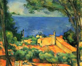 Cézanne Peinture by L Estaque With Red Roofs 1885 Paul Cezanne Wikiart Org