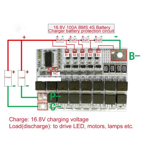 Bms Ion Battery Protection Circuit Module