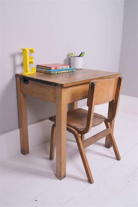 kids desk for two children 39 s vintage single desk with chalkboard lid