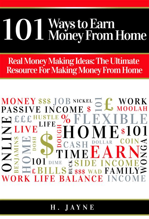 101 Ways To Earn Money From Home  New Ebook Launch
