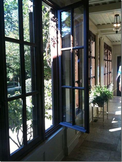casement windows       sun porch