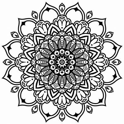 Mandala Coloring Babadoodle Mandalas Intricate Infinity
