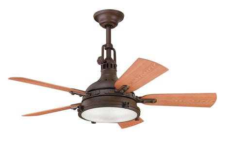 outdoor ceiling fan blades kichler 310101tzp tannery bronze powder coat 44 quot outdoor
