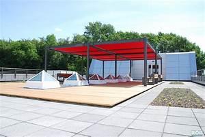 terrassen unterkonstruktion aus stahl terrassendeck mit With terrassen unterkonstruktion stahl