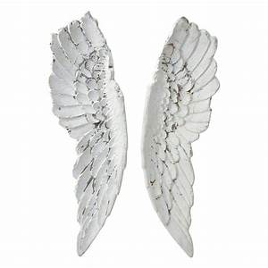 Gabrielle angel wings wall art h cm maisons du monde
