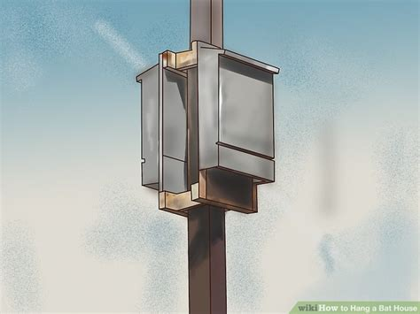 how to hang a bat house 5 steps with pictures wikihow