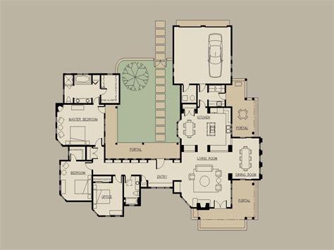 courtyard home floor plans hacienda home plans hacienda style house plans with