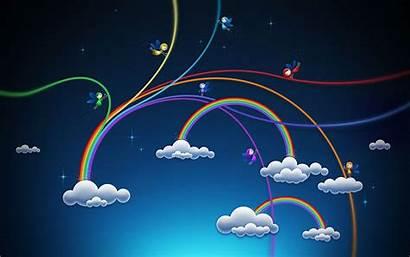Wallpapers Rainbows