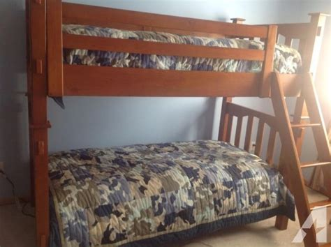 Pottery Barn Twin Bunk Beds W/matresses For Sale In Eden
