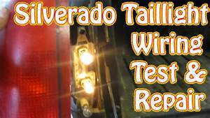Diy Chevy Silverado Gmc Sierra Taillight Repair How To Test And Repair Tail Lamp Wiring Brake