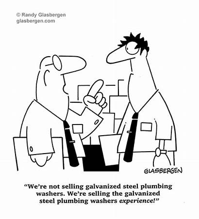 Cartoons Sales Glasbergen Selling Retail Business Cartoon