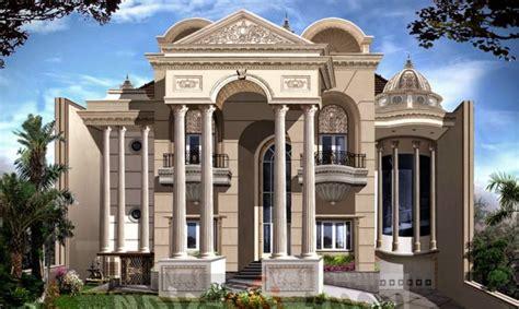 rumah gaya ala eropa  desain minimalis  elegan