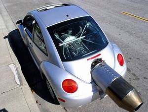 Beetle a propulsione