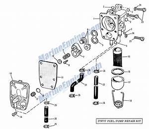 evinrude fuel pump group parts for 1965 75hp 75583 With diagram evinrude gas tank parts johnson outboard fuel pump diagram